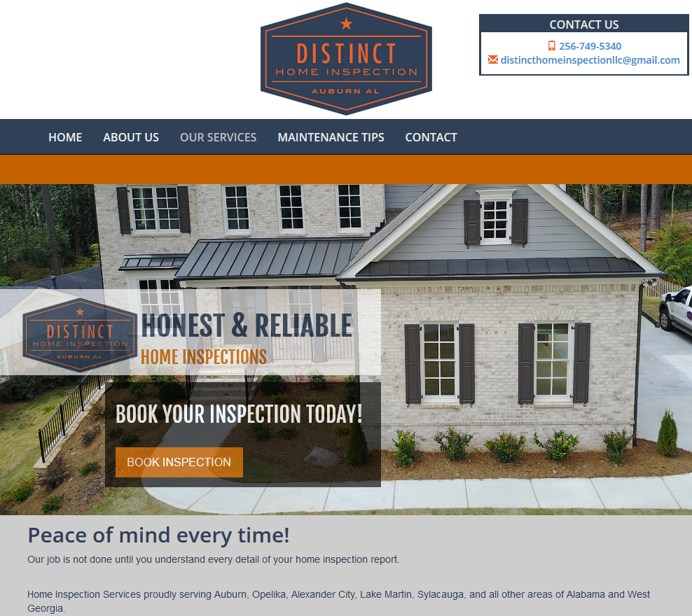 Distinct Home Inspection